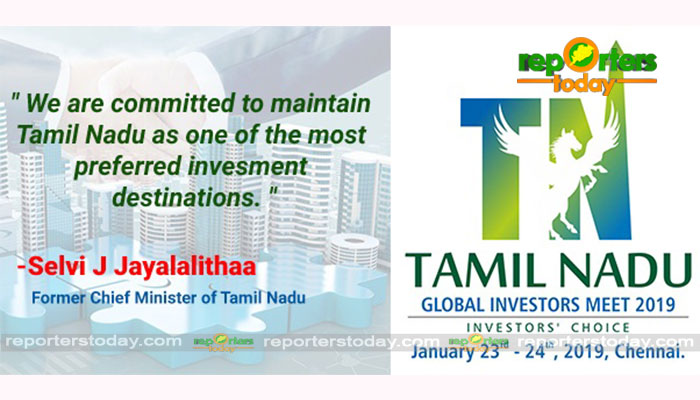 Global Investors Meet in Chennai - Reporters Today