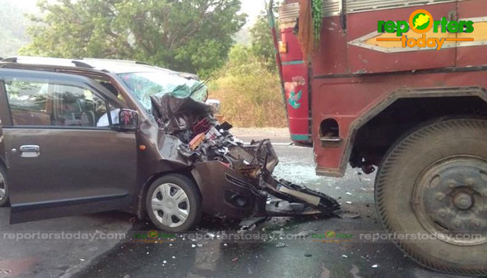 Five killed, two injured in road accident in Odisha - Reporters Today